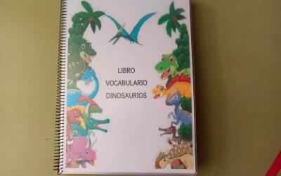 LIBRO DE VOCABULARIO: DINOSAURIOS